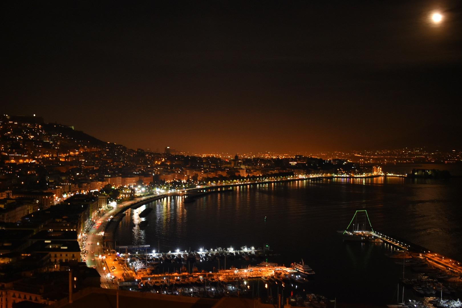 Notte Di Napoli Sprea Fotografia