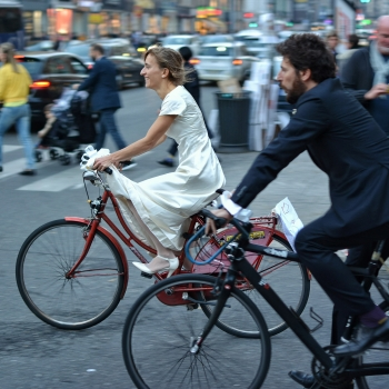 The Cycling Bride