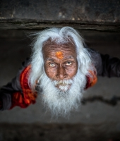 A SADHU FROM THE TOP