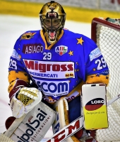 Asiago Hockey - VS  - Valpusteria -  Il Portiere dell' Asiago