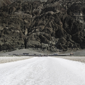 Badwater: acqua non potabile ma scenari suggestivi