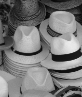 Cappelli in black and white