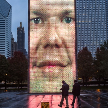 Chicago, the crown fountain