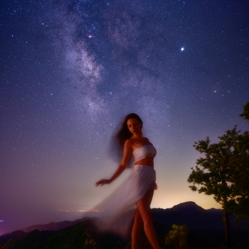Dancing Under Milkyway