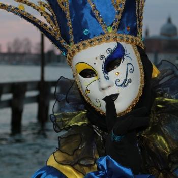 Enjoying Venice Carnival