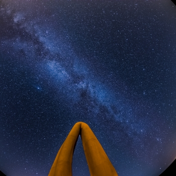 Fisheye Milkyway