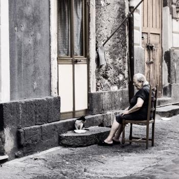 Foto in strada