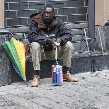 Il venditore di ombrelli e il mercato saturo