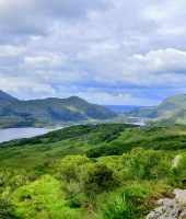 Irlanda - Killarney Valley -  The Ladies' View  ...