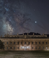 La via lattea sulla Real Cascina di Re Ferdinando III in Ficuzza