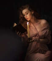 lady with Candle