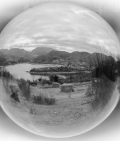 Lago del Turano in ball