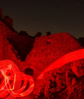 lightpainting medievale