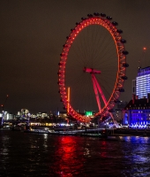 london eye alla sera