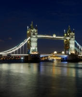 Londra - Tower Bridge by night