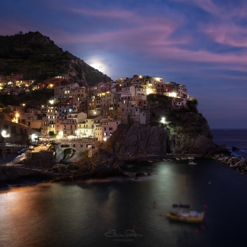 Manarola moonlight