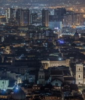 Napoli in the night