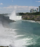 Niagara Falls, the force of nature