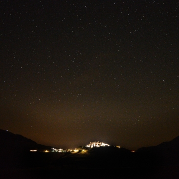 Night in Castelluccio