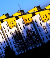 Palazzi in Giallo/Bianco