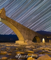ponte del diavolo star trails