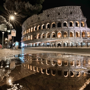 Riflesso-Colosseo