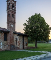 Santa Maria in Binda all'alba