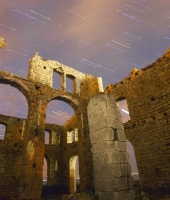 Startrail nell'antica fornace