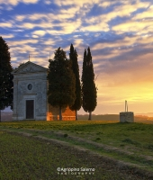 Sunrise at Vitaleta Chapel