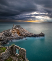 Sunset a Porto Venere