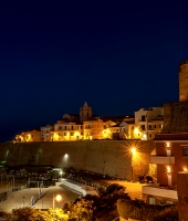 Termoli by night