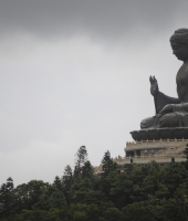 The huge Buddha