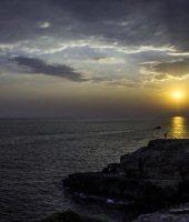 tramonto in salento