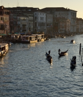 Tramonto sul Canal