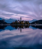 Twilight in Bled