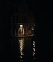 Venice in Black and Night