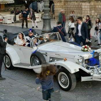 Wedding street photo